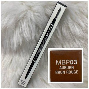 4/$20 NYX Micro Brow Pencil & Brush MBP03 Auburn